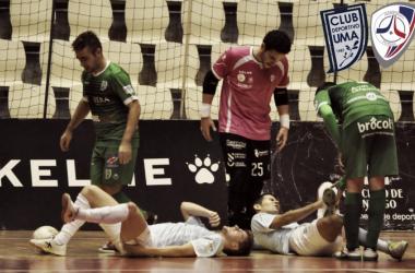 UMA Antequera - Santiago Futsal: guerras diferentes