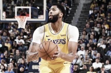 Resumen NBA: Anthony Davis ya lidera a los Lakers