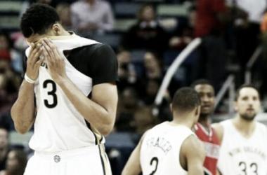 Nueva lesión de Anthony Davis Foto: NBA.com
