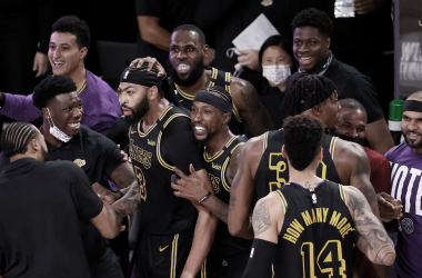Anthony Davis da la victoria a Los Ángeles Lakers