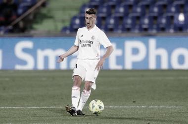 Antonio Blanco debuta en el Coliseum Alfonso Pérez / FOTO: Real Madrid