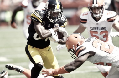 Antonio Brown sigue siendo la única baza fiable de los Steelers   Fuente: nfl.com