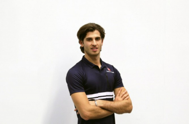 Giovinazzi will continue his development at Haas in seven FP1 sessions. (Image Credit: Sauber F1 Team)