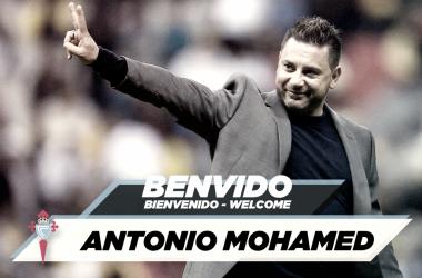 Antonio Mohamed, nuevo entrenador del Celta | Fuente: RC Celta