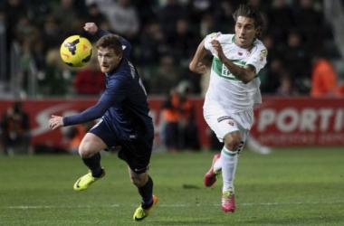 Un gol de Camacho acaba con la mala racha del Málaga fuera de casa
