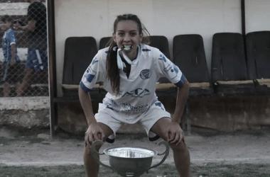 """Entrevista. Ayelén Puebla: """"El fútbol es futbol, no importa si es masculino o femenino"""""""