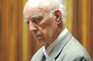 Hewitt at his trial (Associated Press)