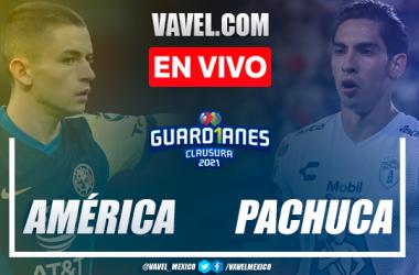 Goles y resumen del América 4-2 Pachuca en Cuartos de Final de Ida de la Liga MX Guard1anes 2021