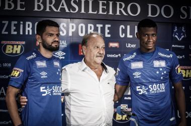 Novos na área: Cruzeiro apresenta Jadson e Luis Orejuela