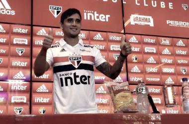 Em sua apresentação, Everton Felipe mostra-se disposto em conquistar sua vaga e ajudar a equipe