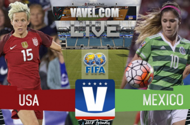 United States vs Mexico Live stream updates, commentary and updates of the Women's International Friendly