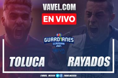 Goles y resumen: Toluca 1-2 Rayados en Jornada 14 de Liga MX Guard1anes 2021