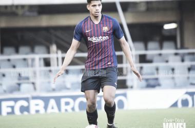 Imagen de Ronald Araújo, jugador del Barça B. FOTO: Noelia Déniz