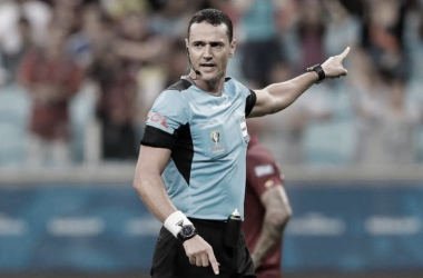 Godoy Cruz: Wilmar Roldan será el árbitro principal y Víctor Carrillo estará a cargo del Var