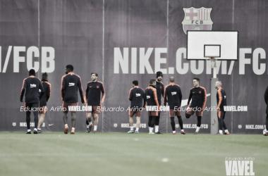 Último entreno antes de recibir a la Real Sociedad | Foto: Eduardo Ariño (VAVEL.com)