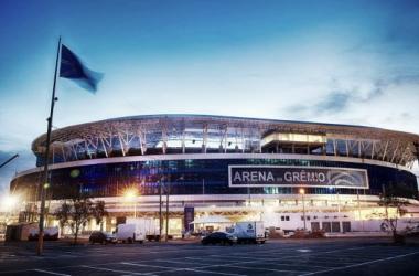 Em coletiva, Fábio Koff confirma acordo com a OAS para compra da Arena