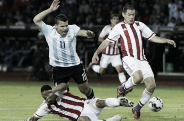 El Kun será titular ante Paraguay (Foto: La Nación).