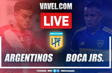 Resumen y goles: Argentinos Juniors (2-2) Boca Juniors en la jornada 5 de la Copa Diego Armando Maradona 2020