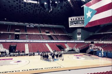 Entrenamiento argentino. Foto: FIBA