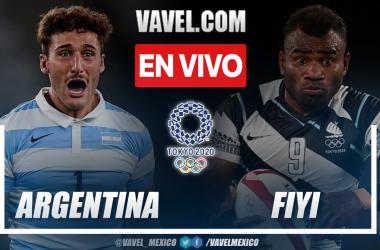 Resumen: Argentina 14-26 Fiyi en semifinales de Rugby en Tokio 2021