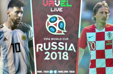 Terminata Argentina-Croazia, LIVE Mondiali Russia 2018 (0-3): La chiude Rakitic. Croazia agli ottavi!