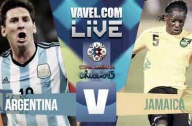 Live Argentina - Giamaica, risultato Copa America 2015  (1-0)