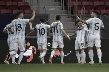 Argentina continúa invicta ante Paraguay por Copa América / Foto: CONMEBOL