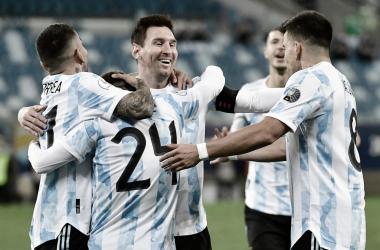 Argentina se florea y asegura el primer lugar