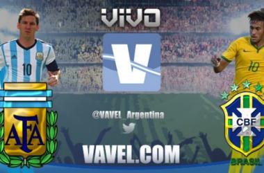 Resultado do jogo Brasil 2-0 Argentina   noSuperclássico das Américas 2014