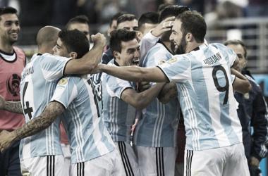 Argentina dio el primer paso de cara al título. Foto: La Nación.