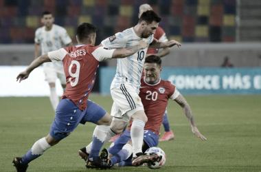 Argentina no pudo ante el 'Muro Bravo'