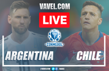 Goals and Highlights: Argentina 1-1 Chile in Qualifiers CONMEBOL 2021