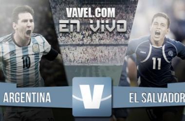 Resultado Argentina - El Salvador por Fecha FIFA 2015 (2-0)