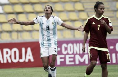 Albiceleste avançou com vitória sobre Venezuela em confronto direto na última rodada (Foto: Divulgação/Conmebol)
