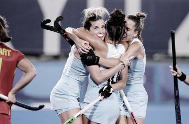 Argentina venció 3-0 a España | Foto: Tokyo 2020