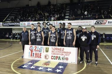 Todos los integrantes del equipo, a excepción de Kent, que jugó un cuadrangular en Chile. Foto: La Liga Contenidos