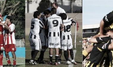 Atlético Paraná, Gimnasia y Esgrima, y Deportivo Madryn