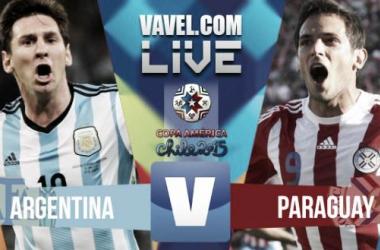 Risultato Argentina - Paraguay, partita del Girone B della Copa America 2015 (2-2)