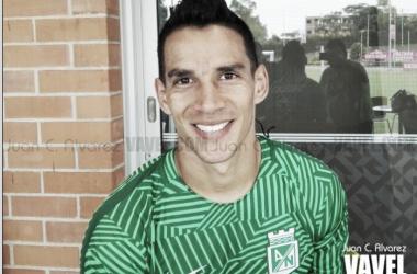 El volante pereirano cumple su cuarto año en Atlético Nacional. | Foto: Juan C. Álvarez - VAVEL Colombia