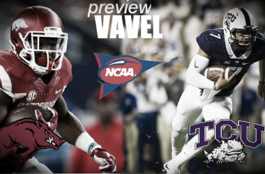 Arkansas Razorbacks travel to Texas to face off with the TCU Horned Frogs.