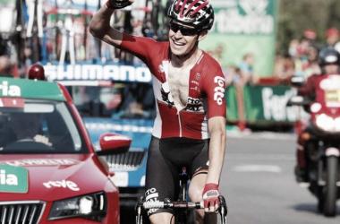 Primera victoria en una grande para Sander Armée | Fotografía: Vuelta a España