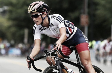 Armitstead is proving the Rainbow Jersey is not a hindrance so far this season / Daily Mail