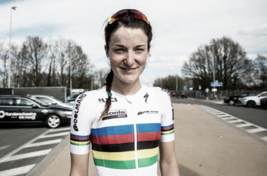 It's been a stressful week for Armitstead / The Guardian