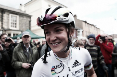 Armitstead raced in front of her hometown crowds yesterday / ITV
