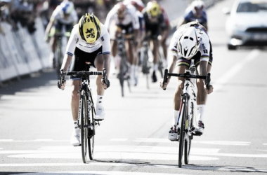 Armitstead won in what was a photo finish / The Guardian