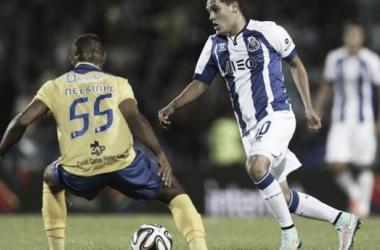 Quintero inaugurou o marcador no jogo da primeira volta(Foto: Agência Lusa)