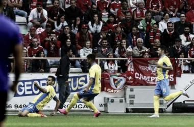 Roberto impediu que oBenfica aproveitasse os deslizes dos rivais directos. (FOTO: Paulo Novais/LUSA)