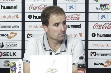 """Jagoba Arrasate: """"Los tres puntos saben bien"""""""