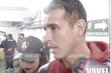 Dani no pudo festejar al máximo su anotación porque fue empate el resultado | Foto: Enrique Ortega / VAVEL
