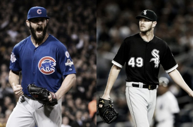 Jake Arrieta and Chris Sale propel Chicago baseball to the top of both leagues